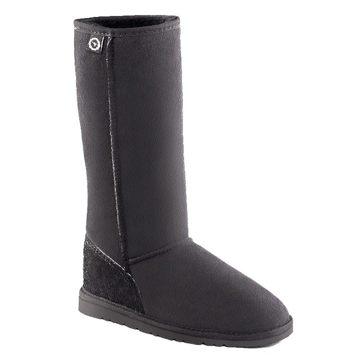 ... Long Ugg Boots (Black). Roll over the image to view it